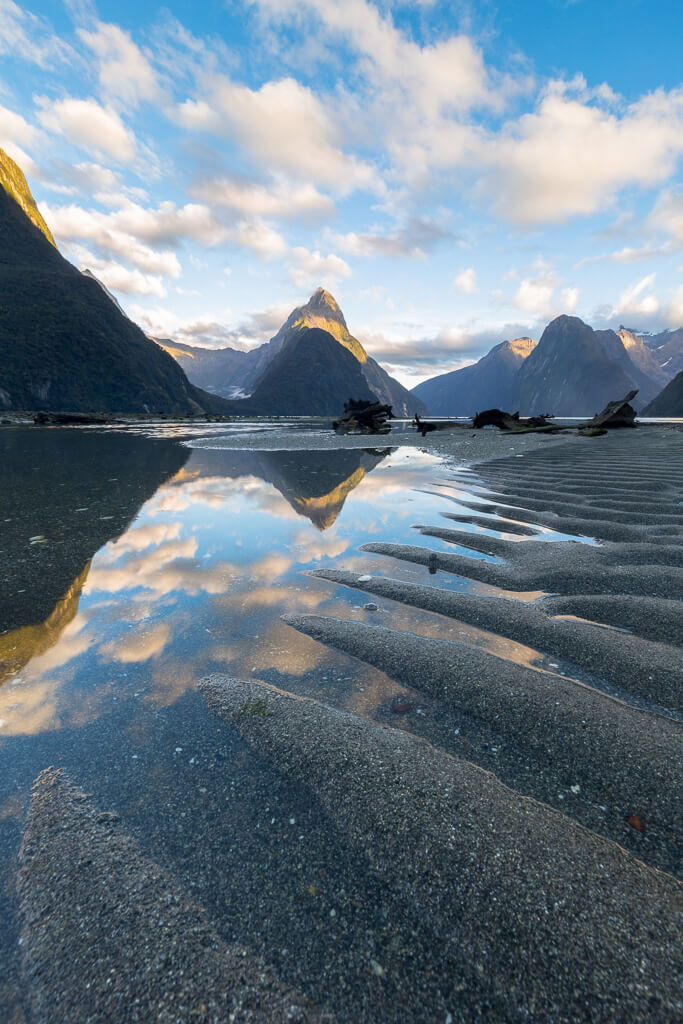 Milford Sound in Fiordland National Park