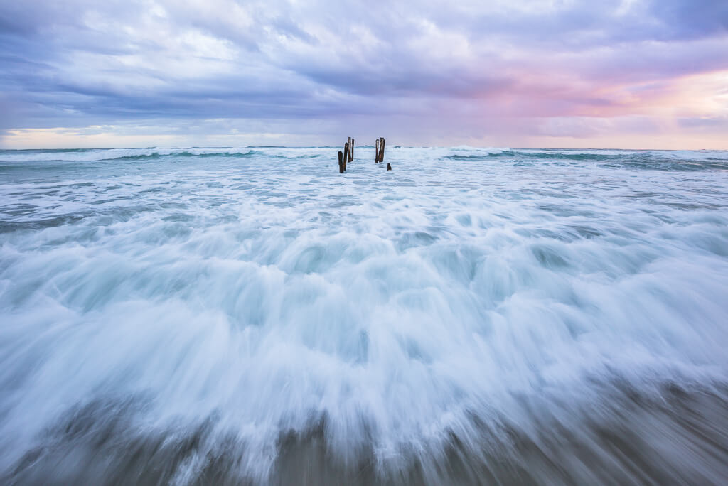 St. Claire Beach in New Zealand