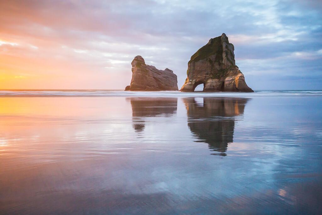 Wharariki Beach,New Zealand,Golden Bay, Southland, New Zealand landscape, Marco Grassi, Marco Grassi Photography,