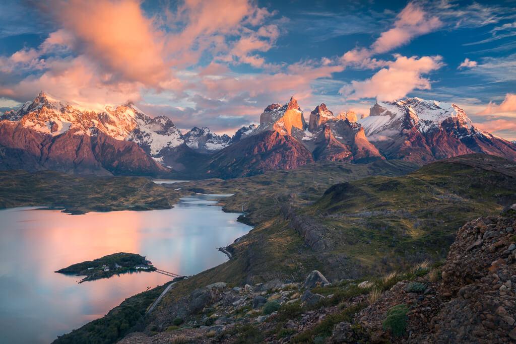Mirador Condor, Torres del Paine, Chile, Chile Landscape, Los cuernos, Patagonia, Patagonia workshop, Patagonia photo tour, Marco Grassi, Marco Grassi Photography,