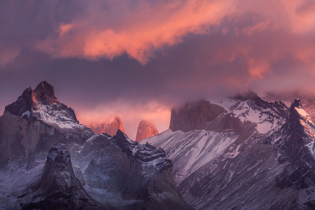 Torres del Paine, Chile, Chile Landscape, Los cuernos, Patagonia, Patagonia workshop, Patagonia photo tour, Marco Grassi, Marco Grassi Photography,