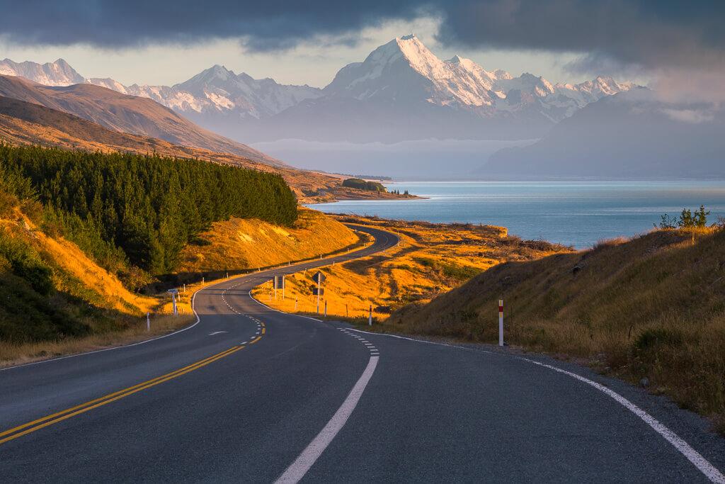 Mt Cook,Aoraki, Scenic road,Southland, New Zealand landscape, Marco Grassi, Marco Grassi Photography,