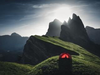 Summer, Seceda, Camping, Hilleberg, Dolomites, Dolomiti, Italy, Landscape, Marco Grassi, Marco Grassi Photography