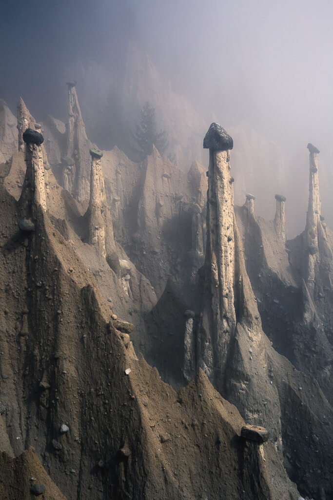 Autumn, Hoodoos, Dolomites, Dolomiti, Italy, Landscape, Marco Grassi, Marco Grassi Photography