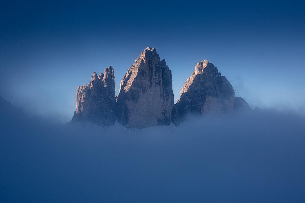 Autumn, fog,Tre Cime di Lavaredo, Dolomites, Dolomiti, Italy, Landscape, Marco Grassi, Marco Grassi Photography
