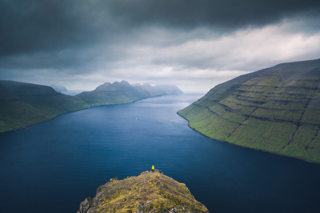 Sunset at Klakkur during the Faroe Islands Photo Tour