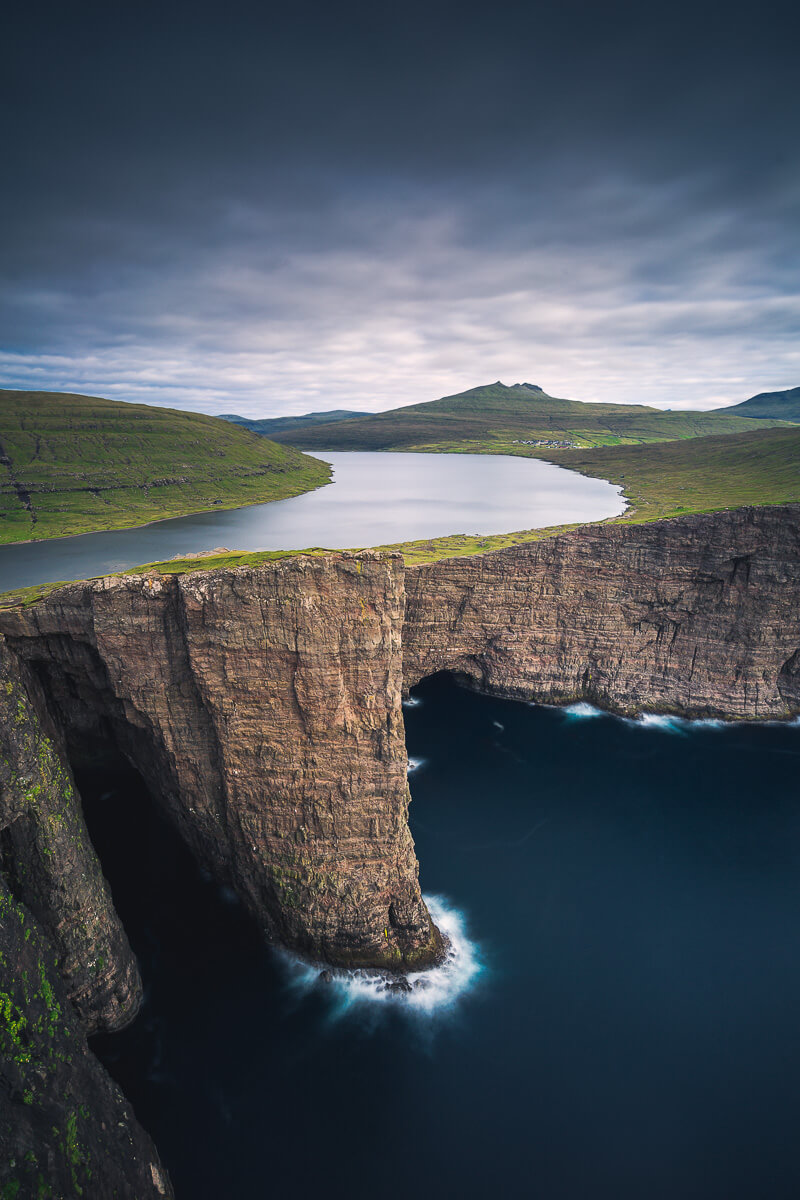 Sorvagsvatn lake during the Faroe Islands Photo Tour
