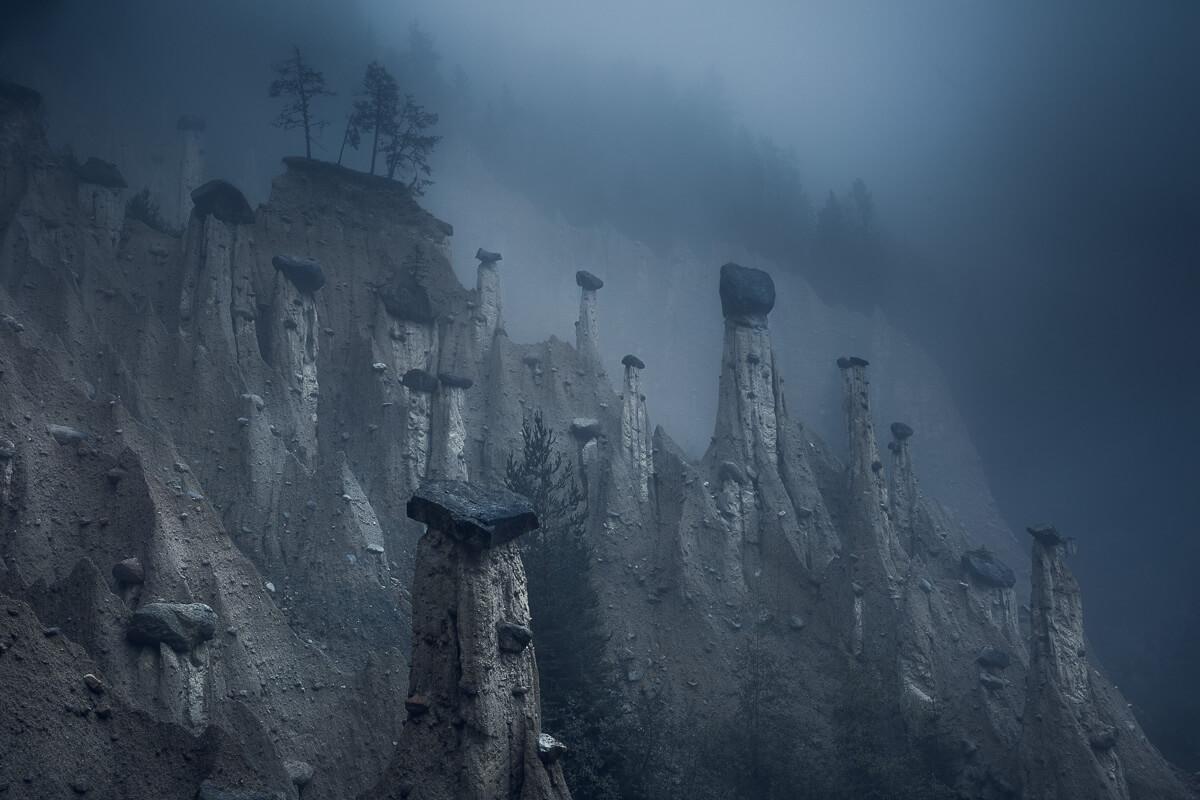 Hoodoos in the Dolomites