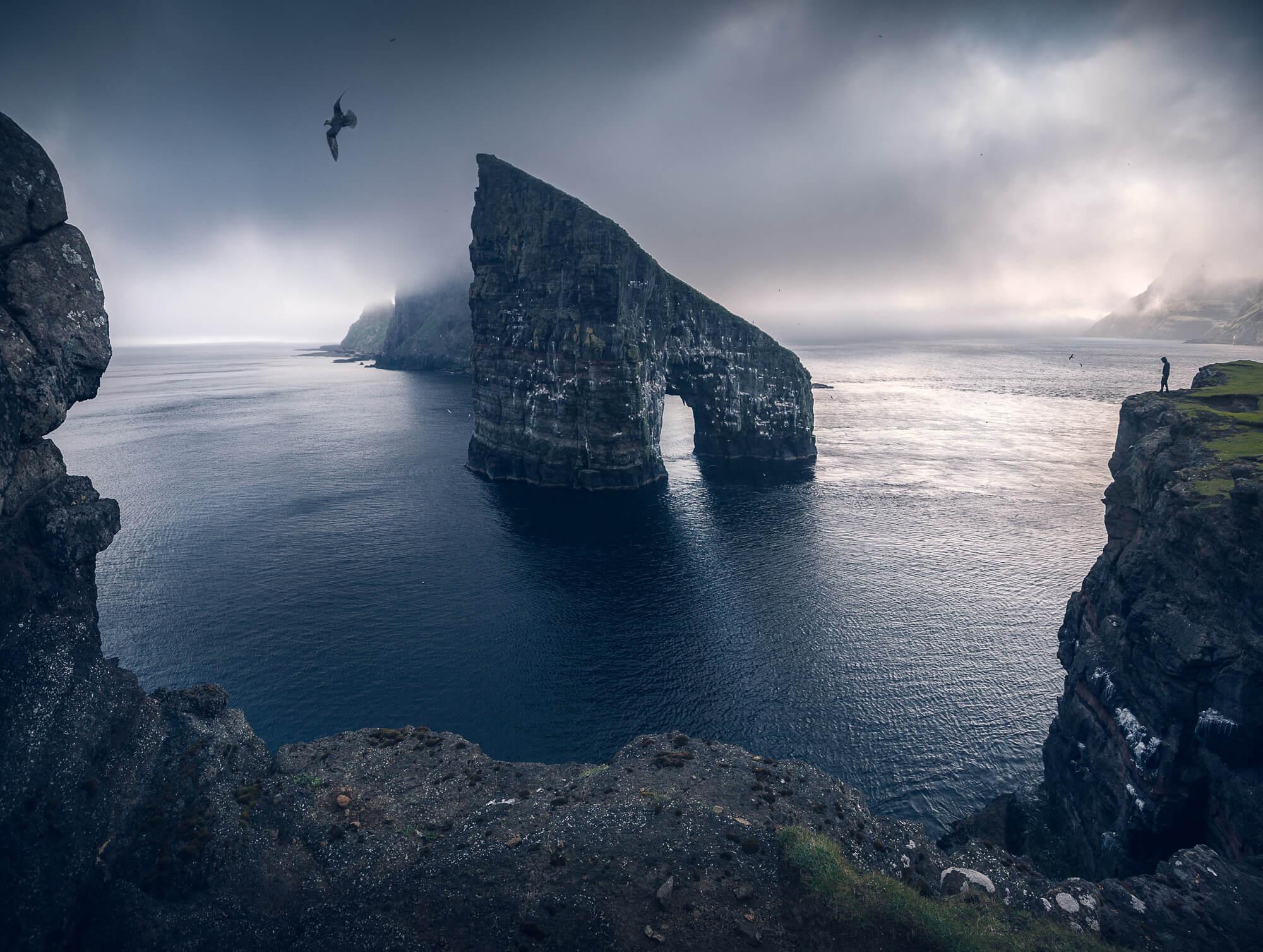 Arch in the Faroe Islands