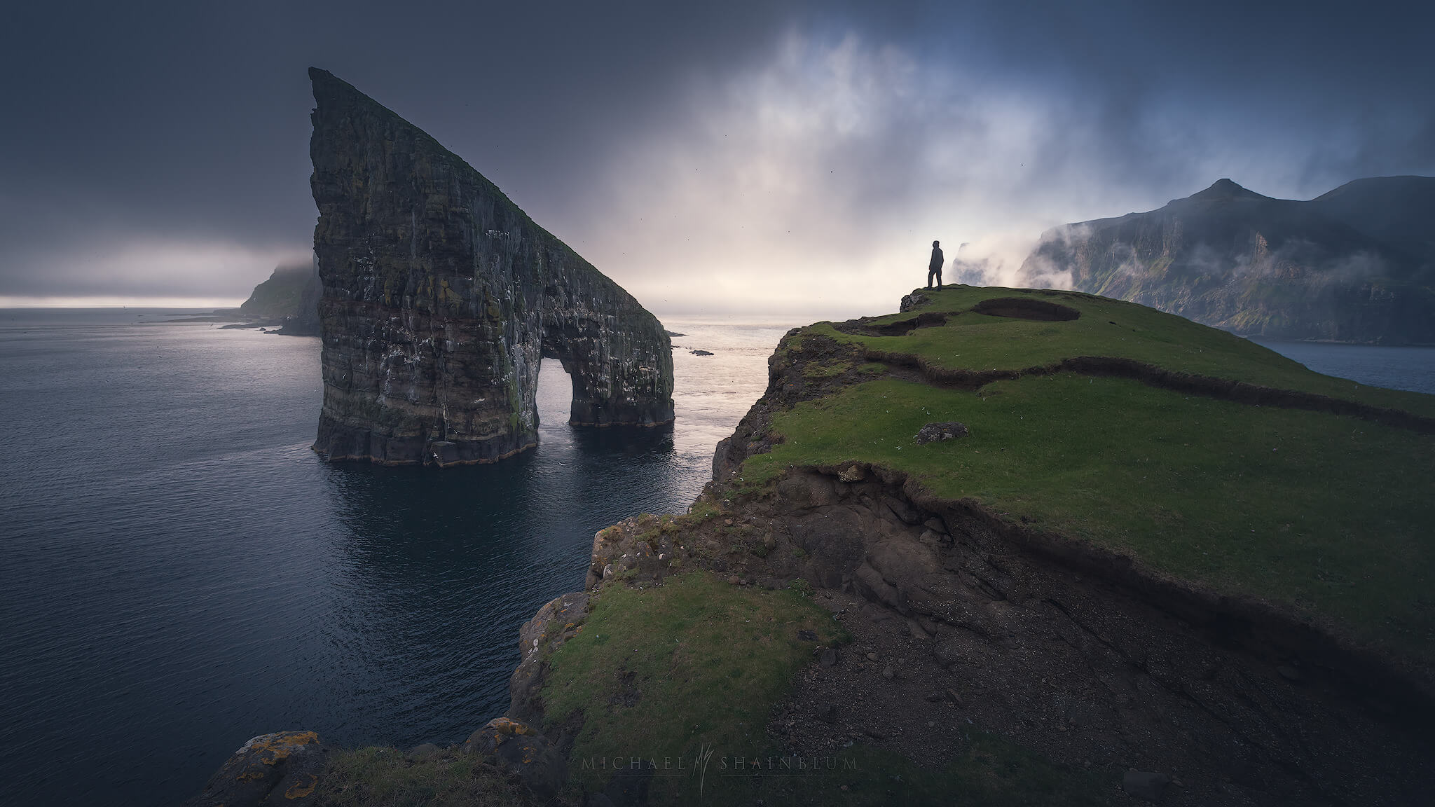 Hiking during the Faroe Islands Photography Workshop