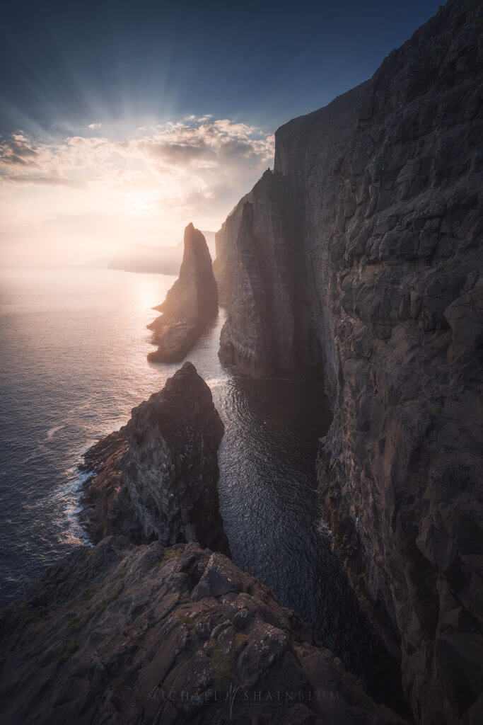 Spectacular cliffs during the Faroe Islands Photography Workshop