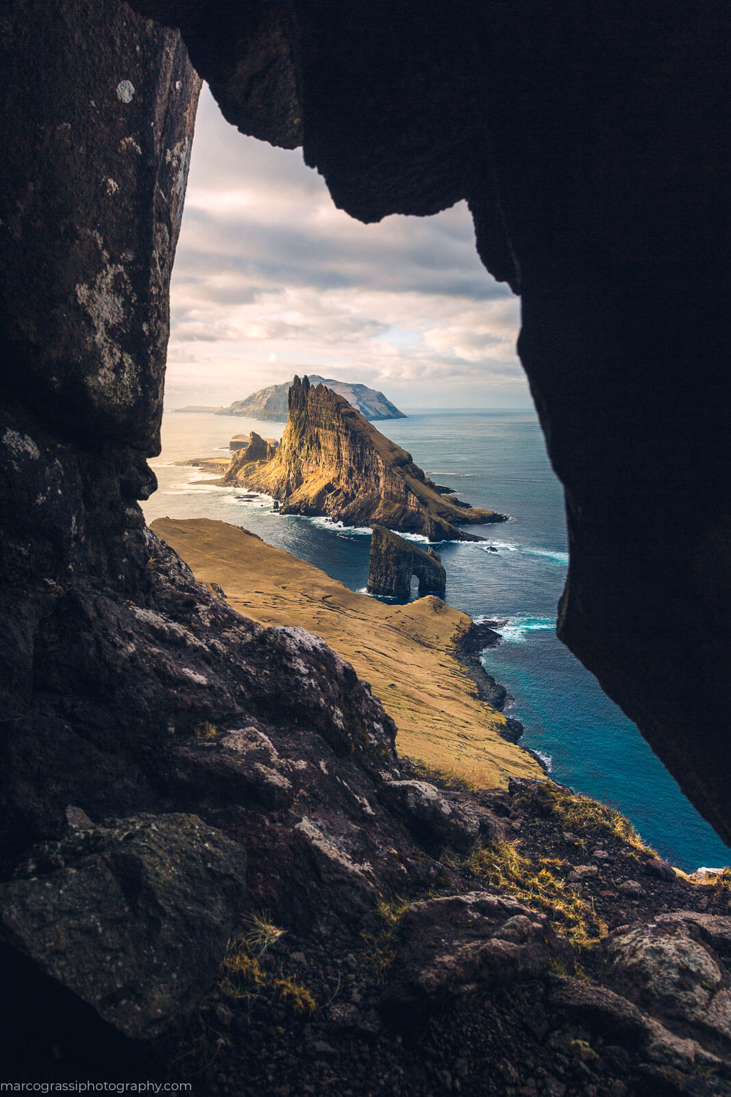 View over Tindholmur Island during the Faroe Islands Photography Workshop