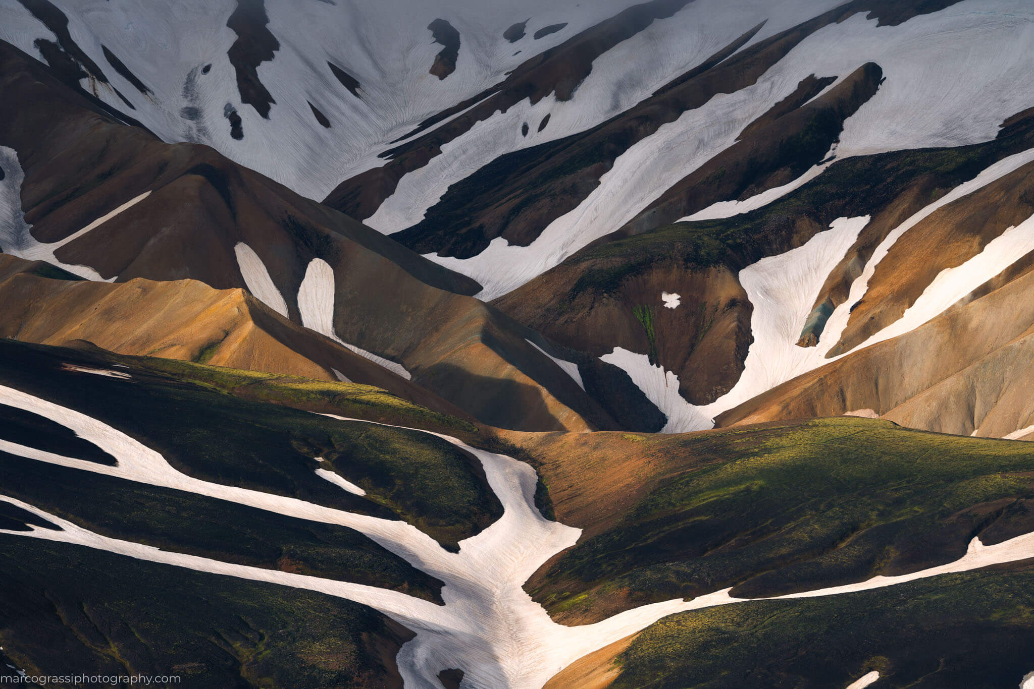 Highlands of Iceland, during the summer photo tour