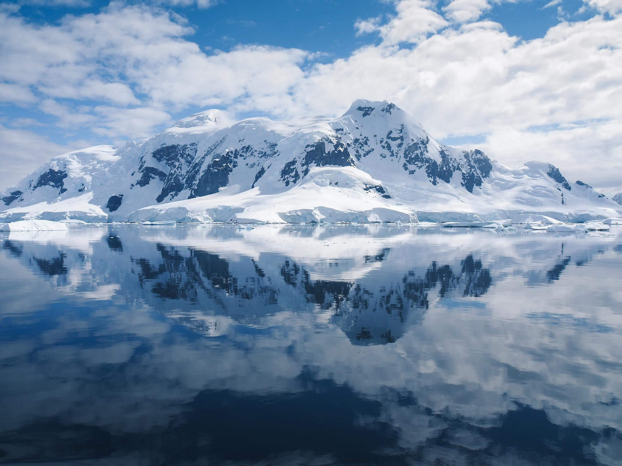 Perfect reflection during the Antarctica Photo Tour with Marco Grassi Photography