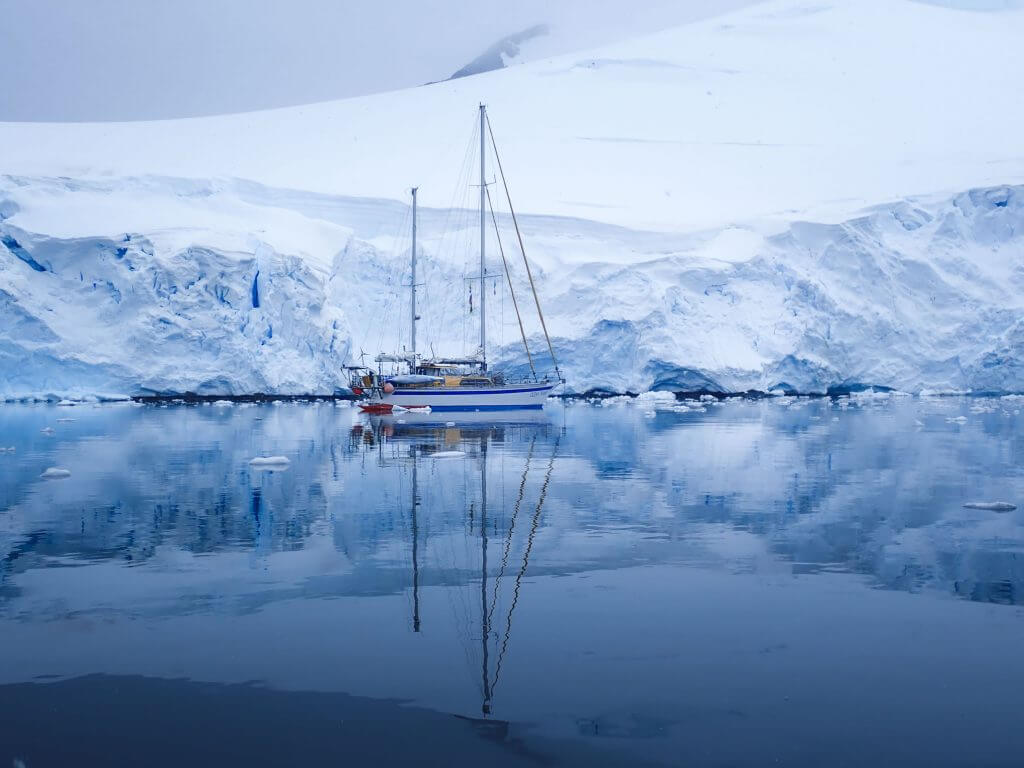 Sailing during the Antarctica Photo Tour with Marco Grassi Photography