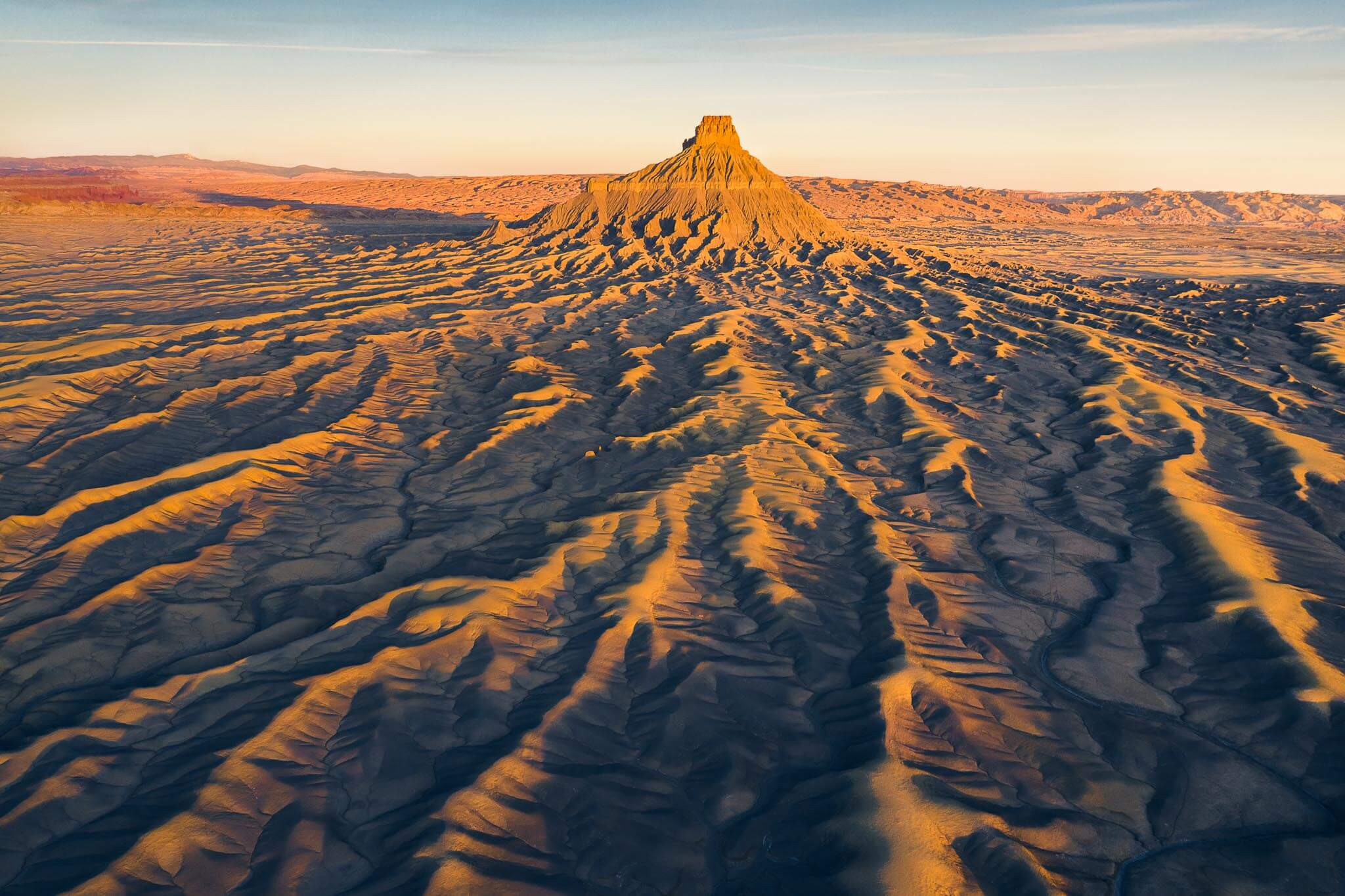 Aerial photography in Utah