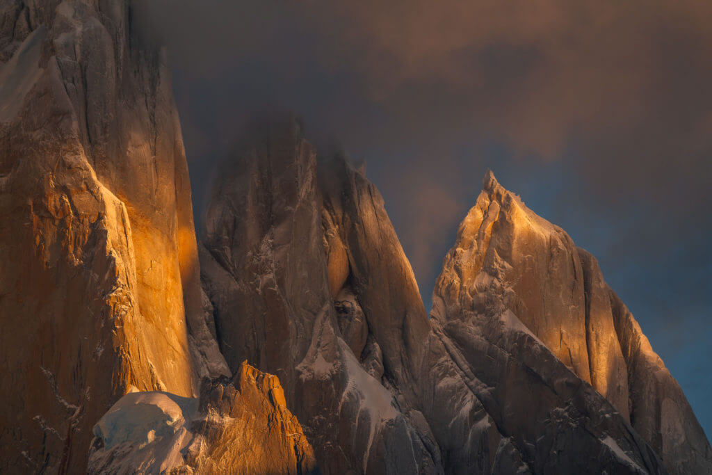 April light in Patagonia