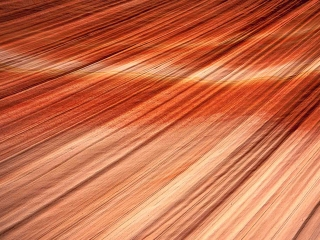 Sand formations in Utah