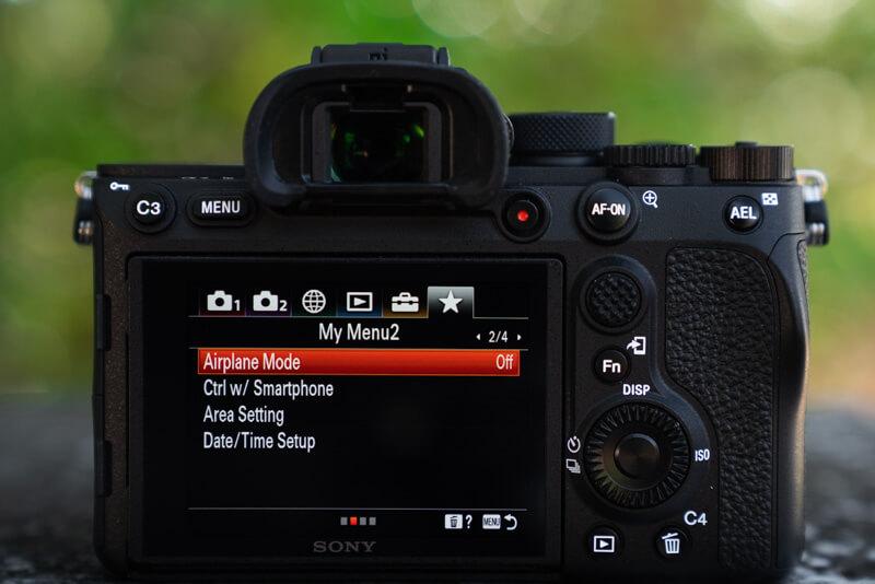 Marco Grassi Custom Menu Settings 2/3 Sony A7R IV