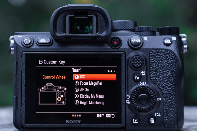 Sony A7R IV Menu Set Up: Choosing custom keys