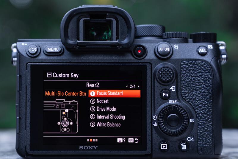 Sony A7R IV Menu Set Up: my custom keys