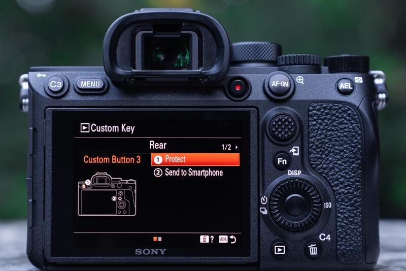 Sony A7R IV Menu Set Up: best custom keys
