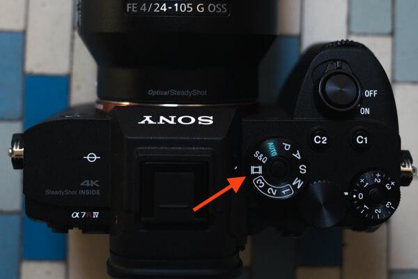 Sony A7R IV Menu Set Up: Movie button alternative