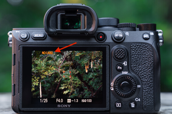 Error Message When Function on Sony A7R IV is Enabled