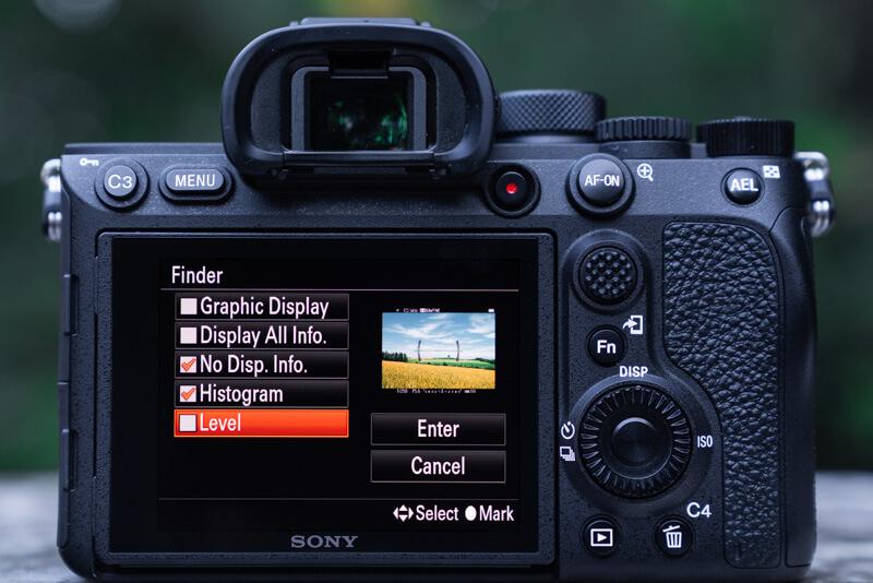 Sony A7R IV Menu Set Up: Customization