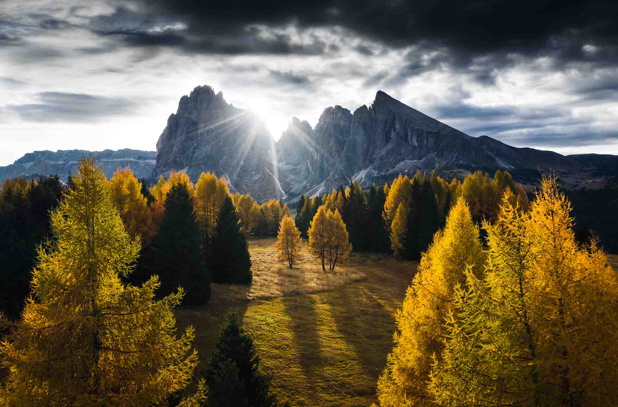 Autumn in Alpe di Siusi
