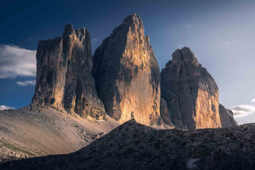 Hiking around Tre Cime di Lavaredo, Dolomites