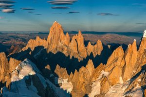 Fitz Roy and Cerro Torre from the sky