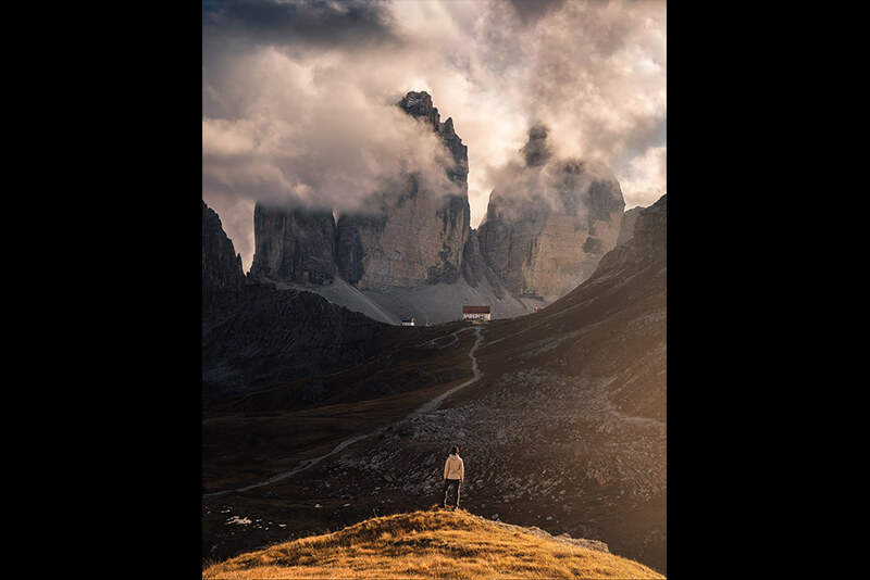 Instagram tutorial: before and after by Marco Grassi Photography