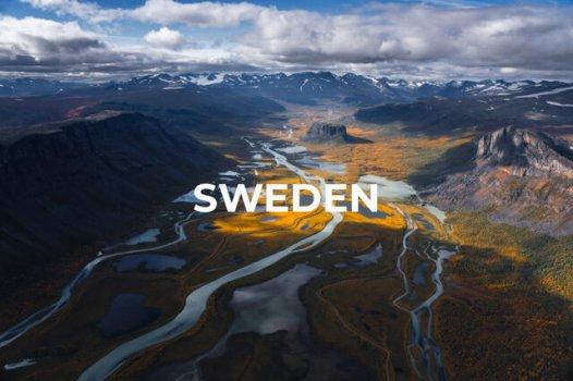 Sweden photo tour in Sarek National Park