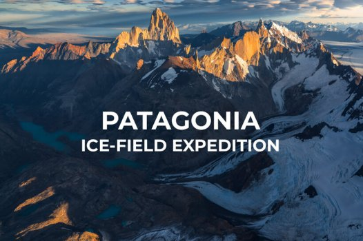 Patagonia ice field expedition with Marco Grassi